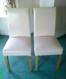 Cotswold Company Dining Chairs - a pair as new