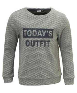 Sweater met tekstprint in maat 92