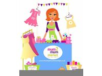 Mum2mum Market Baby & Children's Nearly New Sale IPSWICH - 7th May 2pm-4pm