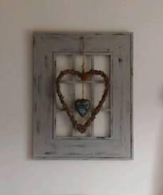 Bespoke, Shabby Chic Decorative Window Frame