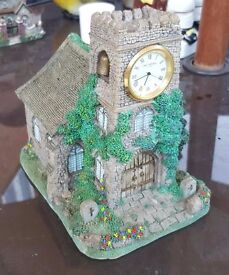 Small Church Ornament (Clock Not in Use)