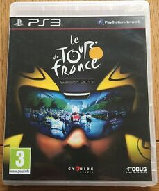 PS3 Le Tour de France game