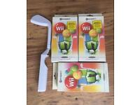 BRAND NEW JOB LOT OF Wii GOLF CLUB STICKS FOR £1 EACH LOOK