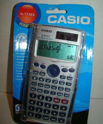 Casio FX-115ES Scientific Calculator/Natural Display Brand New Factory Sealed