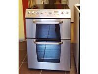 60cm Creda Ceramic Cooker, Double Fan Assisted Oven / Grill- 6 Months Warranty