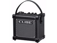 Roland Micro Cube GX Ultra Compact Practice Amp, Black (As New)
