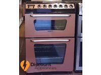 60cm Tricity Bendix Copper Cooker, Double Oven /Grill - 6 Months Warranty