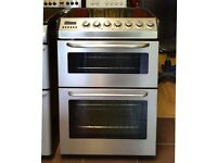 60cm Zanussi Ceramic Cooker, Double Fan Assisted Oven/Grill- 6 Months Warranty