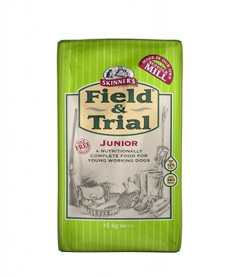 2 x 15kg skinners field and trial junior complete dog food only £24.75 each!