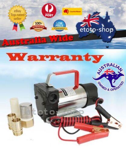 12 Volt 24 Volt Fuel Oil Diesel Transfer Pump 40 L/min
