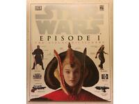 HARDBACK STAR WARS -EPISODE I - THE VISUAL DICTIONARY. DK LUCASFILMS VGC