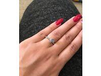 Genuine Pandora Ring - June Birthstone - Size 52