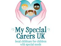 NEW SPECIAL NEEDS CARE SERVICE - NOW OPEN FOR REGISTRATIONS TO FAMILIES AND CARE PROVIDERS