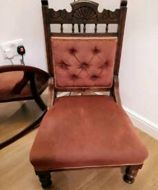 Vintage nursing chair
