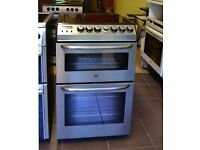 55cm Zanussi Ceramic Cooker, Fan Assisted Oven/Grill- 6 Months Warranty