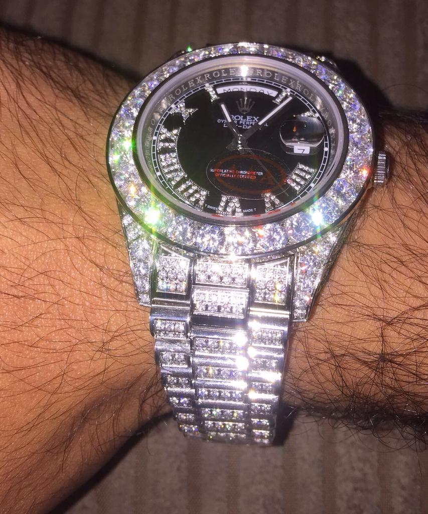 Mens Diamond Rolex Watches Uk
