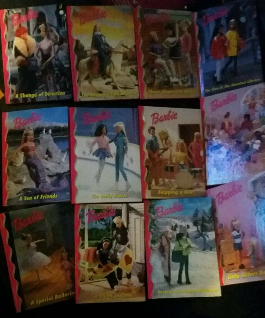 Barbie books - set of 12