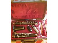 Boosey and Hawkes Edgware Clarinet for sale, excellent condition, wooden