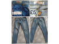 Alcott Jeans Carol superskinny fit Size 32 Light Blue