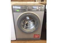 HOTPOINT AQUARIUS + - Grey, 7KG, A++, 1400, SILENT WASHER + 3 Months Guarantee + FREE LOCAL DELIVERY