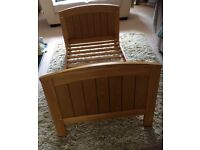 Vintage Pine Mamas and Papas toddler bed