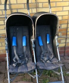 Mamas and papas twin pushchair