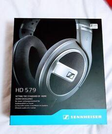 Brand New- Sennheiser HD 579 Over Head Headphones