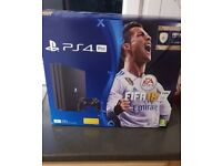 Playstation 4 Pro 1 TB **GREAT CONDITION** - With Fifa 18 & Call of Duty WW2 - See Description Below