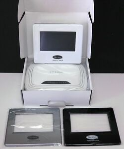 carrier infinity systxccitw01 a wifi thermostat bundle with new wireless router ebay. Black Bedroom Furniture Sets. Home Design Ideas