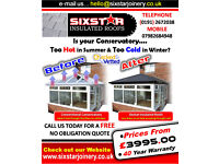 SIXSTAR INSULATED ROOFS, HOT, COLD, INSULATION, CONSERVATORY, NEWCASTLE, GATESHEAD, NORTHEAST