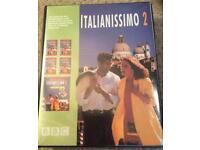 Teach yourself intermediate Italian tape cassette course