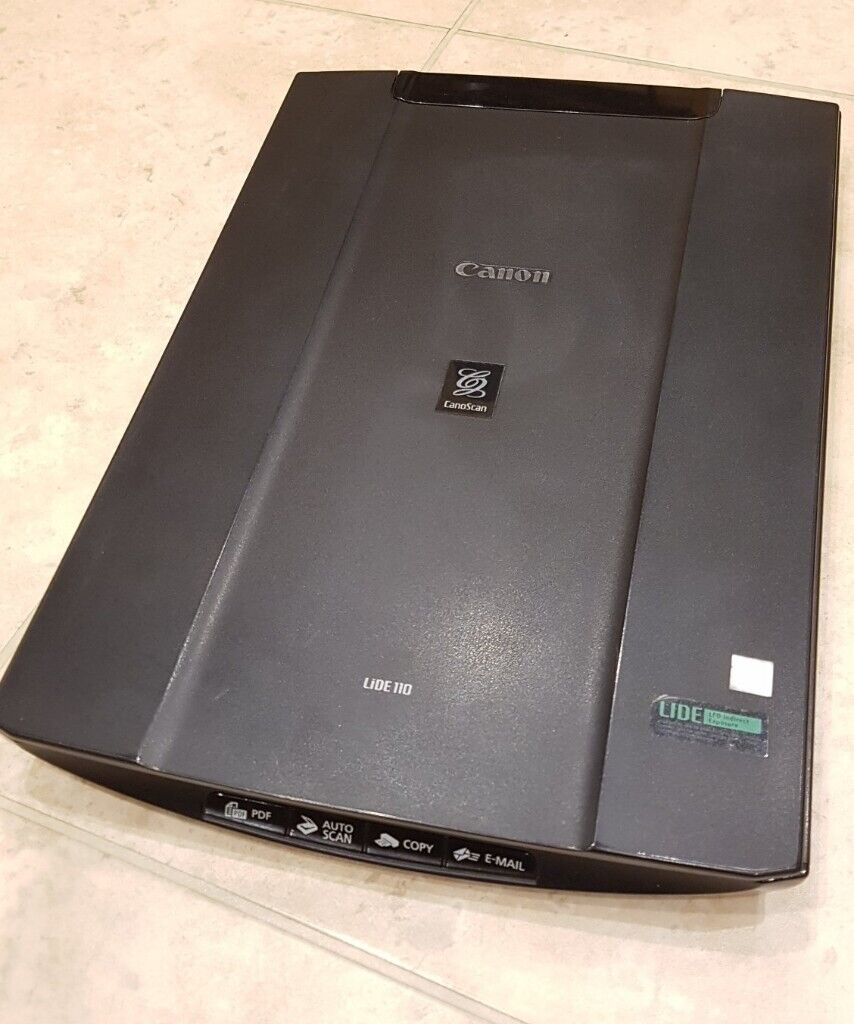 Canon LIDE 110 A4 colour flatbed scanner   in Earley, Berkshire   Gumtree