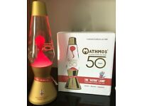 Mathmos limited edition 1 of 500 made boxed signed 50th Anniversary Astro Lava lamp