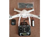 Free X quadcopter complete never used
