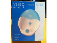 VISIQ BUBBLE FOOT BATH New in Box