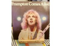 FRAMPTON COMES ALIVE VINYL ALBUMS