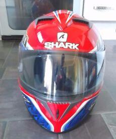 Crash Helmet & Leather Jacket
