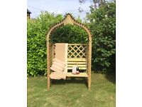 Amritsar Garden Arbour. New. Flatpack. PICK UP TODAY.
