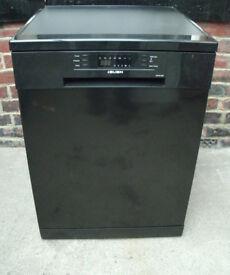 Black Bush Full Size Dishwasher