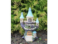 Solar Fairy Tree Castle Garden Ornament