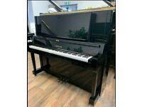 Yamaha YUS Black Upright |Belfast Pianos|