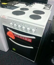 Cookworks CET60W Single Electric Cooker - White. Item No SBAR1497425050426