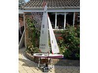 1 meter international radio controlled racing Yacht
