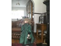 Hand numbered collectors doll by laura cobabe. The hamilton collection.