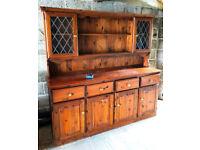 Antique Pine Welsh Dresser, Good condition