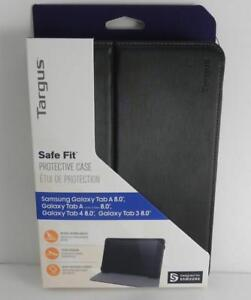 "New, Targus Safe Fit Tablet Case for Samsung Tab A 8"" - Black (THZ608GL)"