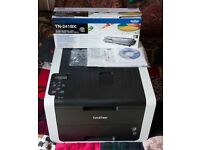 Brother HL 3150CDW Wireless LED Network Printer - Colour- Full Ink, Collection from Loanhead.