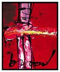 Herman Brood | Giclée: Purple Haze | Afmeting: 90cm x 110cm