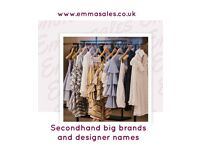 892fbfe23d4ec Emmasales Secondhand clothing big brands top designers, men's, children's,  ladies, 2nd hand