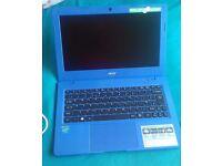 "Acer Aspire AO1-131-C726 One Cloudbook 11.6"" Windows 10 Laptop (Blue)"